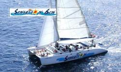 Catamaran Sensation lloret costa brava